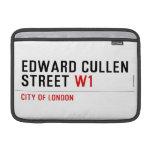 Edward Cullen Street  MacBook Air Sleeves (landscape)