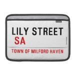 Lily STREET   MacBook Air Sleeves (landscape)