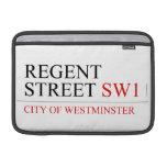 REGENT STREET  MacBook Air Sleeves (landscape)
