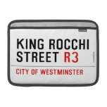 king Rocchi Street  MacBook Air Sleeves (landscape)