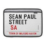 Sean paul STREET   MacBook Air Sleeves (landscape)