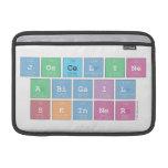 Joscelyne Abigail Skinner  MacBook Air Sleeves (landscape)