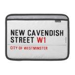 New Cavendish  Street  MacBook Air Sleeves (landscape)
