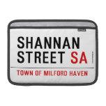 Shannan Street  MacBook Air Sleeves (landscape)