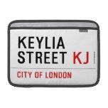 Keylia Street  MacBook Air Sleeves (landscape)