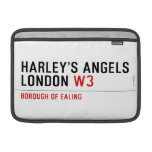 HARLEY'S ANGELS LONDON  MacBook Air Sleeves (landscape)