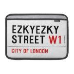 ezkyezky Street  MacBook Air Sleeves (landscape)