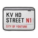 KV HD Street  MacBook Air Sleeves (landscape)