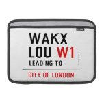 WAKX LOU  MacBook Air Sleeves (landscape)