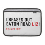 Creases Out Eaton Road  MacBook Air Sleeves (landscape)