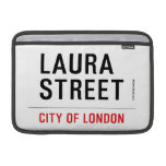 Laura Street  MacBook Air Sleeves (landscape)