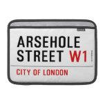 Arsehole Street  MacBook Air Sleeves (landscape)