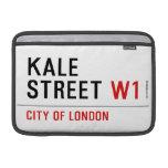 Kale Street  MacBook Air Sleeves (landscape)