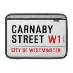 carnaby street  MacBook Air Sleeves (landscape)