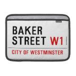 baker street  MacBook Air Sleeves (landscape)