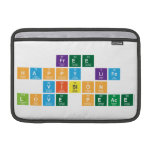 free  happy life  vision  love peace  MacBook Air Sleeves (landscape)