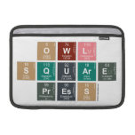 Owl Square Press  MacBook Air Sleeves (landscape)