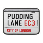 PUDDING LANE  MacBook Air Sleeves (landscape)