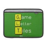 Game Letter Tiles  MacBook Air Sleeves (landscape)