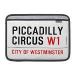 piccadilly circus  MacBook Air Sleeves (landscape)