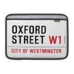 oxford street  MacBook Air Sleeves (landscape)