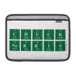 Chuck Norris  MacBook Air Sleeves (landscape)