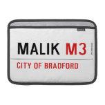 Malik  MacBook Air Sleeves (landscape)