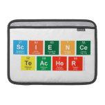 Science Teacher  MacBook Air Sleeves (landscape)