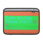 Capri Mickens  Swagg Street  MacBook Air Sleeves (landscape)