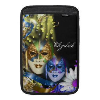 Macbook Air Venetian masquerade quinceanera masks MacBook Air Sleeve