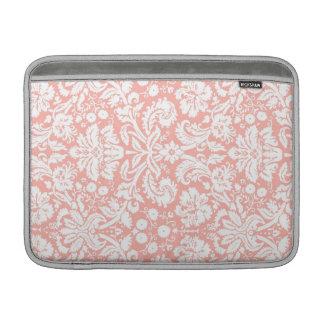 Macbook Coral Damask Pattern MacBook Air Sleeve