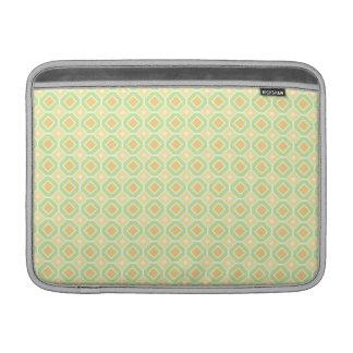 Macbook Lime Lemon Retro Pattern Sleeves For MacBook Air