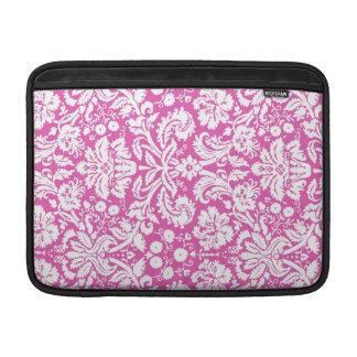 Macbook Pink Damask Pattern Sleeves For MacBook Air