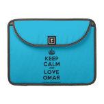 """[Crown] keep calm and love omar  MacBook Pro 13"""" Sleeves MacBook Pro Sleeve"""