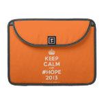 """[Crown] keep calm and #hope 2013  MacBook Pro 13"""" Sleeves MacBook Pro Sleeve"""