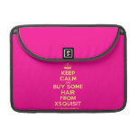 """[Knitting crown] keep calm and buy some hair from xsquisit  MacBook Pro 13"""" Sleeves MacBook Pro Sleeve"""