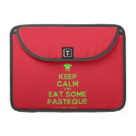 "[Chef hat] keep calm and eat some pasteque  MacBook Pro 13"" Sleeves MacBook Pro Sleeve"