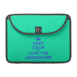 [Crown] keep calm and love the janoskians  MacBook Pro 13 Sleeves MacBook Pro Sleeve