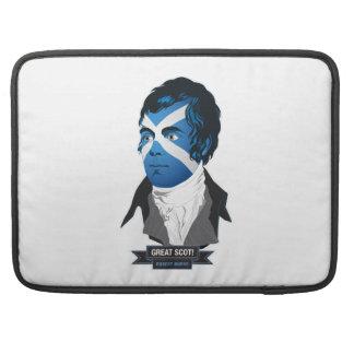 MacBook Pro 15 sleeve. Robert Burns, a Great Scot! Sleeves For MacBook Pro