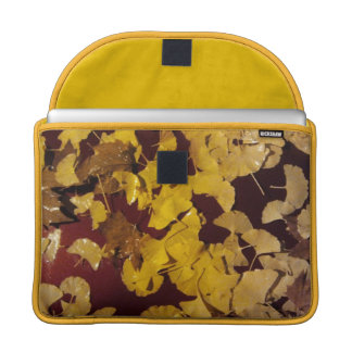MacBook Pro Flap Sleeve with yellow leaves Sleeves For MacBook Pro