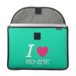 i [Love heart]  my life i [Love heart]  my life MacBook Pro Flap Sleeves Sleeves For MacBooks