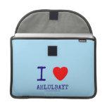 i [Love heart]  ahlulbayt i [Love heart]  ahlulbayt MacBook Pro Flap Sleeves Sleeves For MacBooks