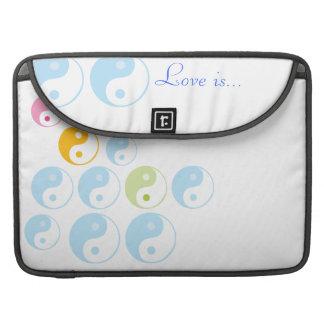 MacBook Pro Sleeve -Yin yang deco template