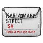 Karla marie STREET   MacBook Pro Sleeves