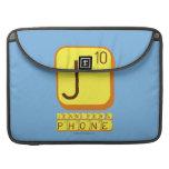 J JENNIFER'S PHONE  MacBook Pro Sleeves