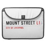 Mount Street  MacBook Pro Sleeves