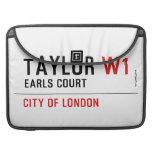 Taylor  MacBook Pro Sleeves