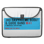 3rd Davyhulme Scout & Guide Band  MacBook Pro Sleeves