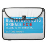 boothtown boys  brigade  MacBook Pro Sleeves