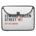 Edward Cullen Street  MacBook Pro Sleeves